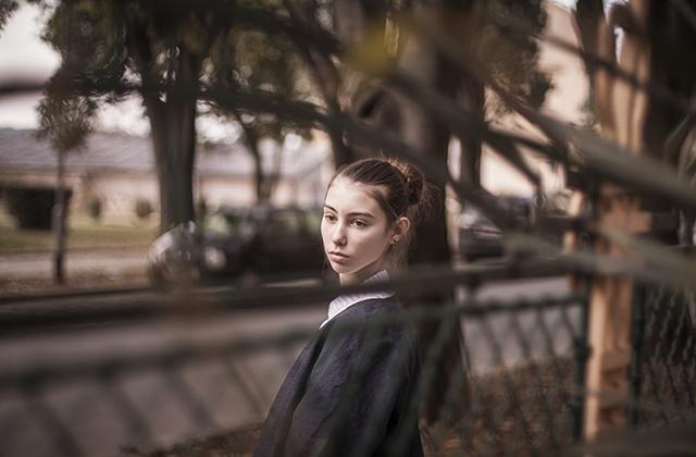 Sa prošlogodišnje radionice: fotografija – Marko Hajdarović; model – Valentina Bokan; modni dizajn – Linda Turković.